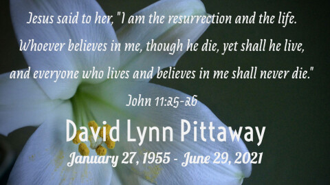 Dave Pittaway Funeral Service